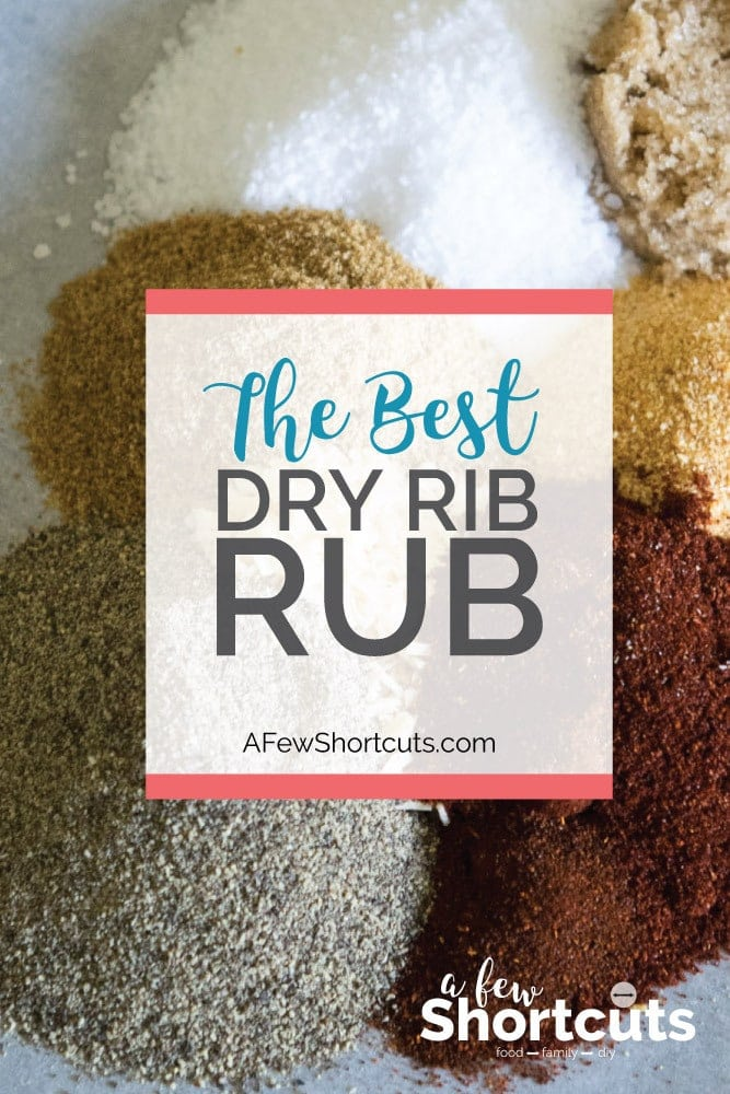 Pull out that grill and grab a slab of ribs. Try the Best Rib Dry Rub EVER! This recipe is super simple to make and everyone will ask for more!