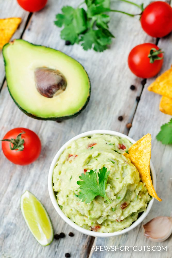 This recipe can't be beat! You have to try The Best Homemade Guacamole Recipe! It's perfect for taco Tuesday or just because!