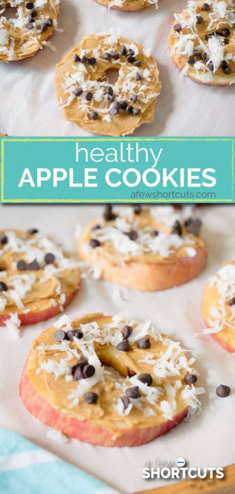 A great snack option when your sweet tooth strikes! Try this yummy Healthy Apple Cookies Recipe that the whole family will love!