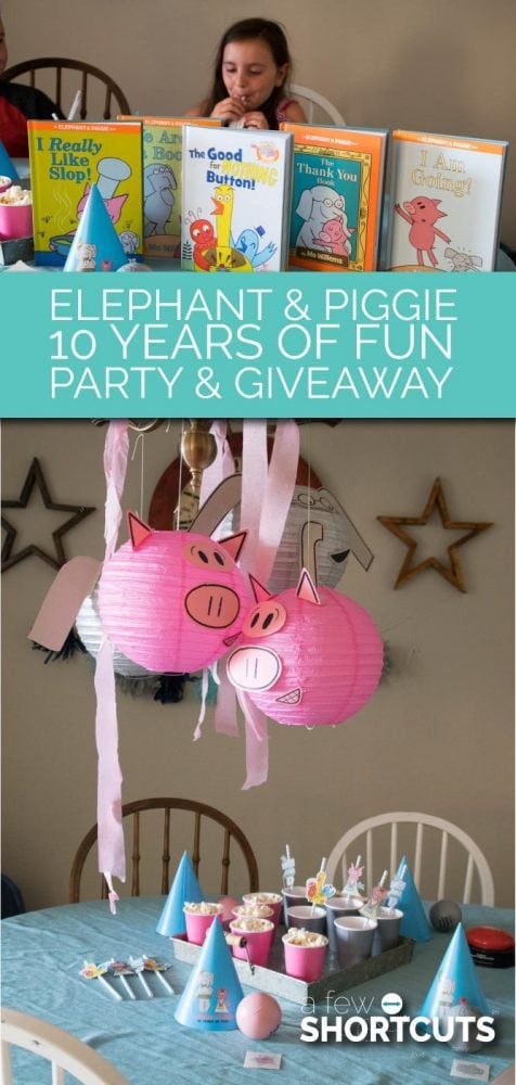 Check out our Elephant & Piggie 10 Years of fun Party and find out why these are some of our favorite early childhood books! Plus get the free downloadable activity sheets and more!