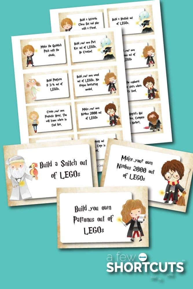 Are You A Fan Of Both Harry Potter LEGOs These Fun Cards PERFECT