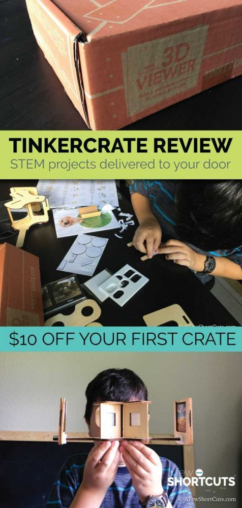 Thinking about signing up for Tinker Crate? Check out our Tinker Crate Review and snag $10 off your first crate!