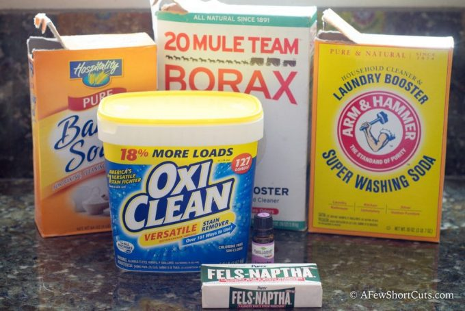 The Best Homemade Laundry Detergent
