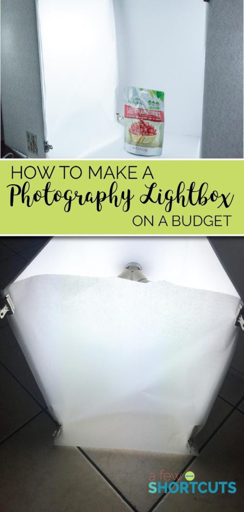 Don't waste your money on expensive lighting for your photography! Learn How to Make a Photography Light Box on a budget that works perfectly for your needs