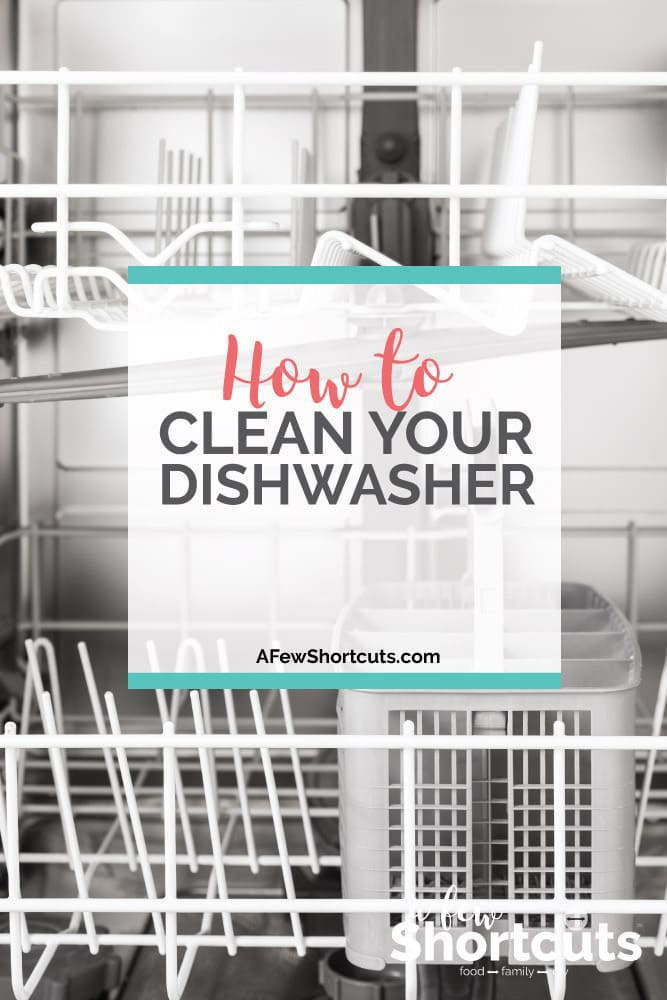 Don't let your dishwasher get gunked up. Learn how to clean your dishwasher in a few simple steps with items you already have in your pantry!