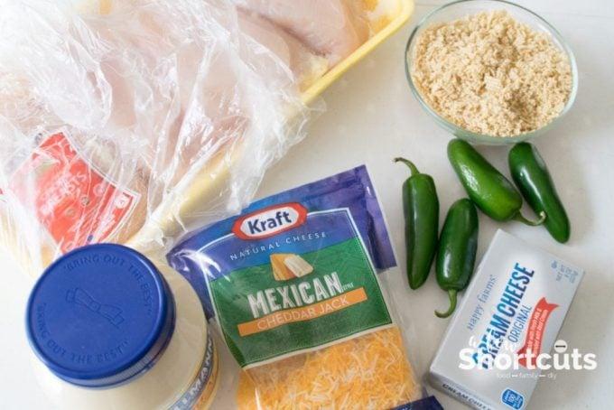 Jalapeno Popper chicken ingredients