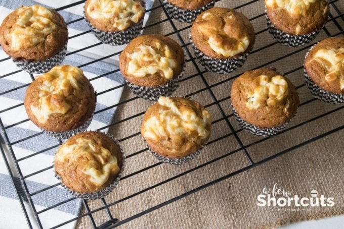 Fall breakfast will not be complete without some of these delicious Pumpkin Cream Cheese Swirl Muffins on the table! Easy to make and gluten-free options.
