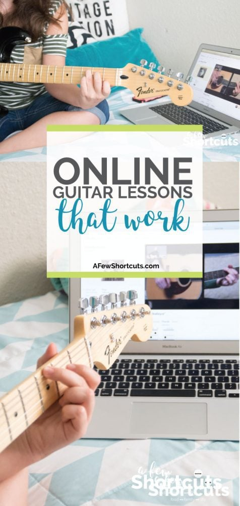 Turn Your Teen Into A Rockstar with Online Guitar Lessons that Work From Fender Play! They will be playing songs they know in no time!