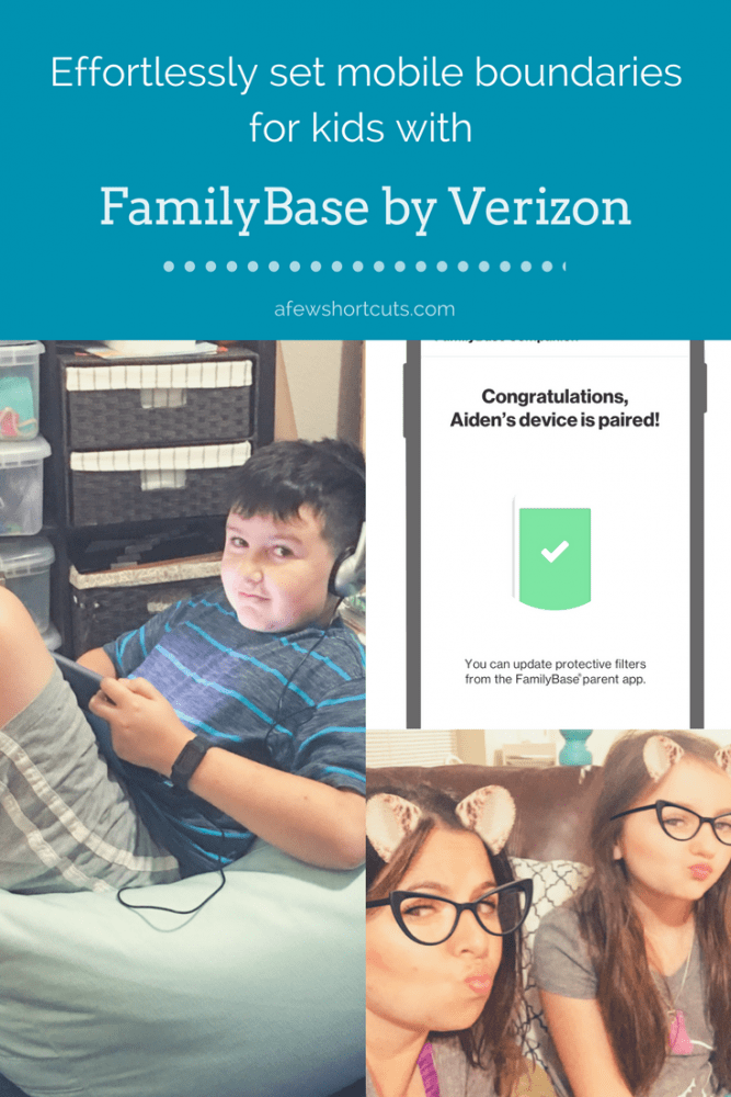 No extra gadgets or gizmos. Learn how to Effortlessly Set Mobile Boundaries For Kids with FamilyBase by Verizon. Monitor, Limit screentime & more.