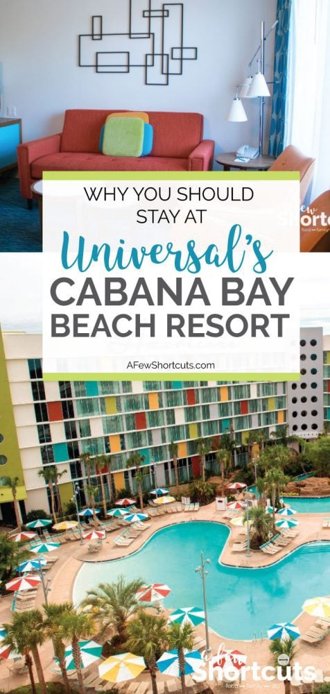 Where do you stay when you visit Universal Studios Orlando? Learn why you should stay at Universal's Cabana Bay Beach Resort for your next vacation!