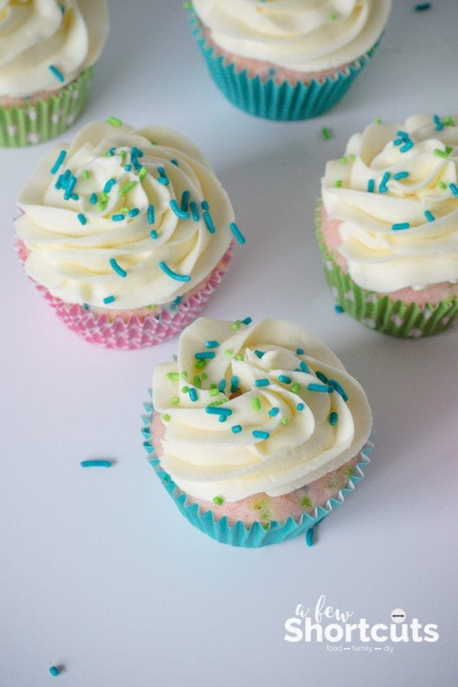 The Best Buttercream Frosting Recipe that is perfect for icing cakes and cupcakes. Soft and creamy! Can be made dairy free also.