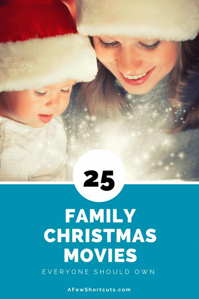Don't rely on cable or satellite. Create your own family movie night with these 25 Family Christmas Movies Everyone Should Own.