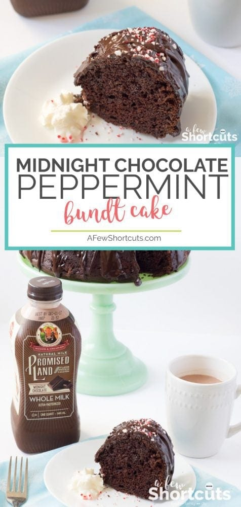 No matter what time of day your sweet tooth strikes this Midnight Chocolate Peppermint Bundt Cake is a keeper! Everyone will want the recipe!