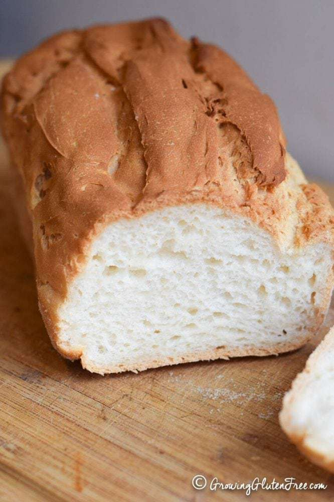 Gluten Free Bread Loaf sliced