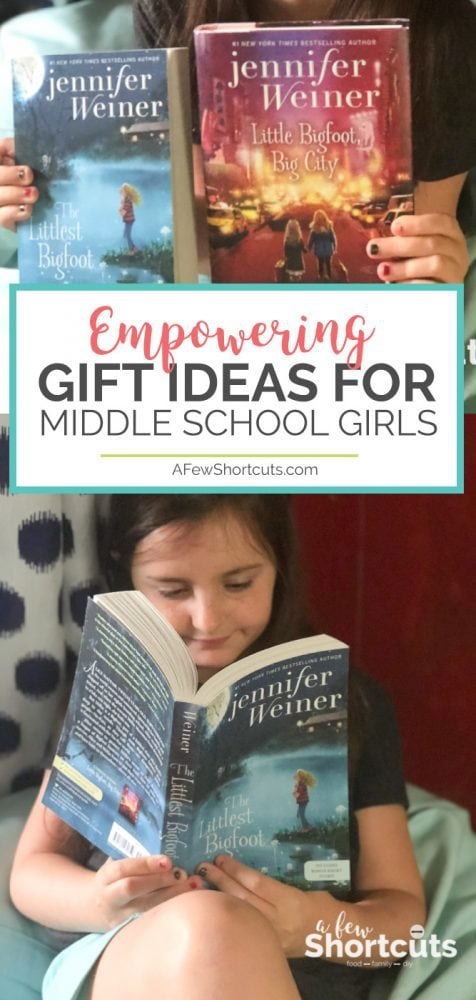 Tweens and early teens can be hard to shop for no matter the occasion. Check out these Empowering Gift Ideas for Middle School Girls that they will love. #giftguide