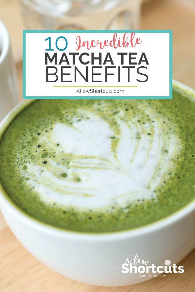 Matcha Tea Lattes are amazing, but have you heard of these Incredible Matcha Tea Benefits that will have you reaching for another cup?!