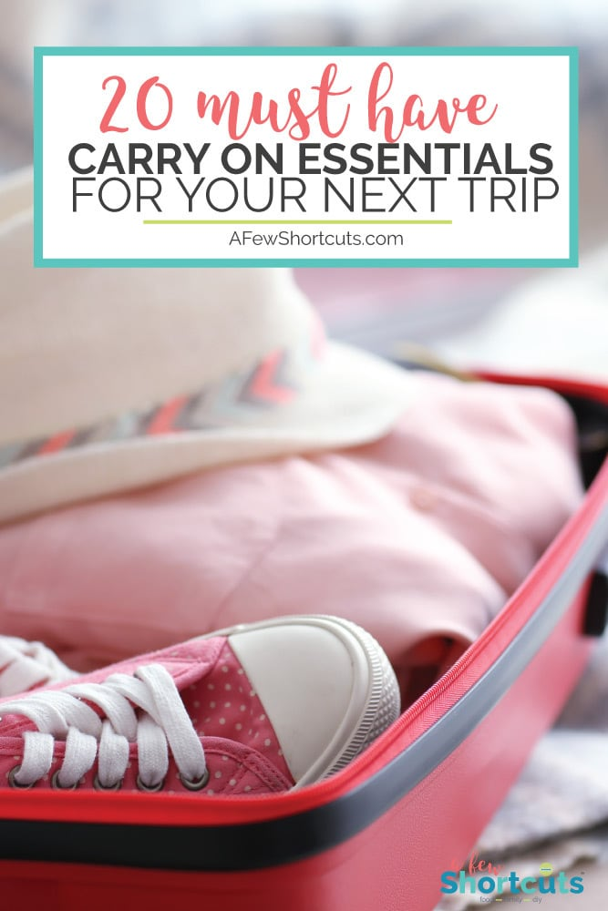 Packing for a business trip or a vacay?! Do you have everything you are going to need? Check out these 20 Must-Have Carry On Essentials for Your Next Trip.