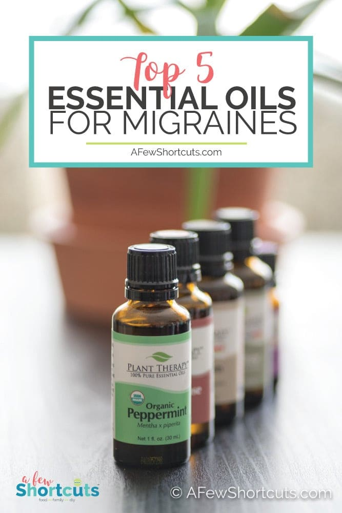 Fight those Migraines and Headaches naturally. Learn about the top 5 Essential Oils for Migraines and how to use them to get relief quickly. #essentialoils #migraines #naturalhealth