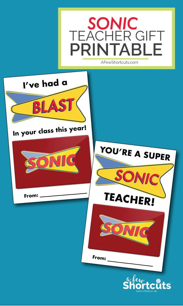 image relating to Teacher Appreciation Cards Printable called Sonic Trainer Reward Card Printable - A Handful of Shortcuts