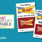 graphic about Sonic Gift Card Printable identify Absolutely free Trainer Present Card Printable Thank By yourself Card Notion - A