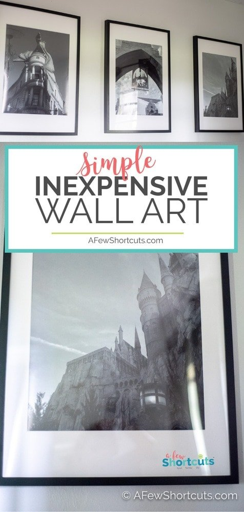 Decorating your home does not have to cost a fortune. You can have classy Inexpensive Wall Art simply with this easy shortcut.