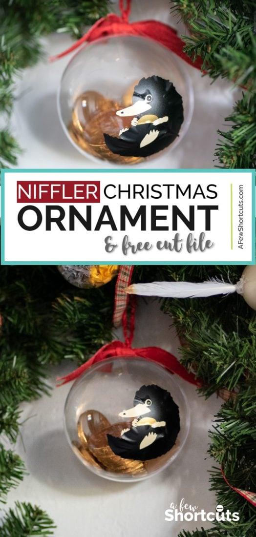 Diy Niffler Christmas Ornament With Cut File A Few Shortcuts