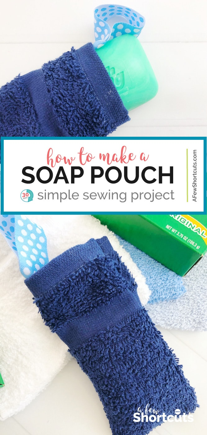 how to make a soap pouch