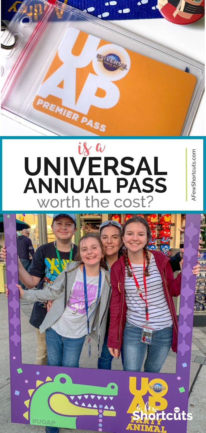Universal Annual Pass Worth the Cost