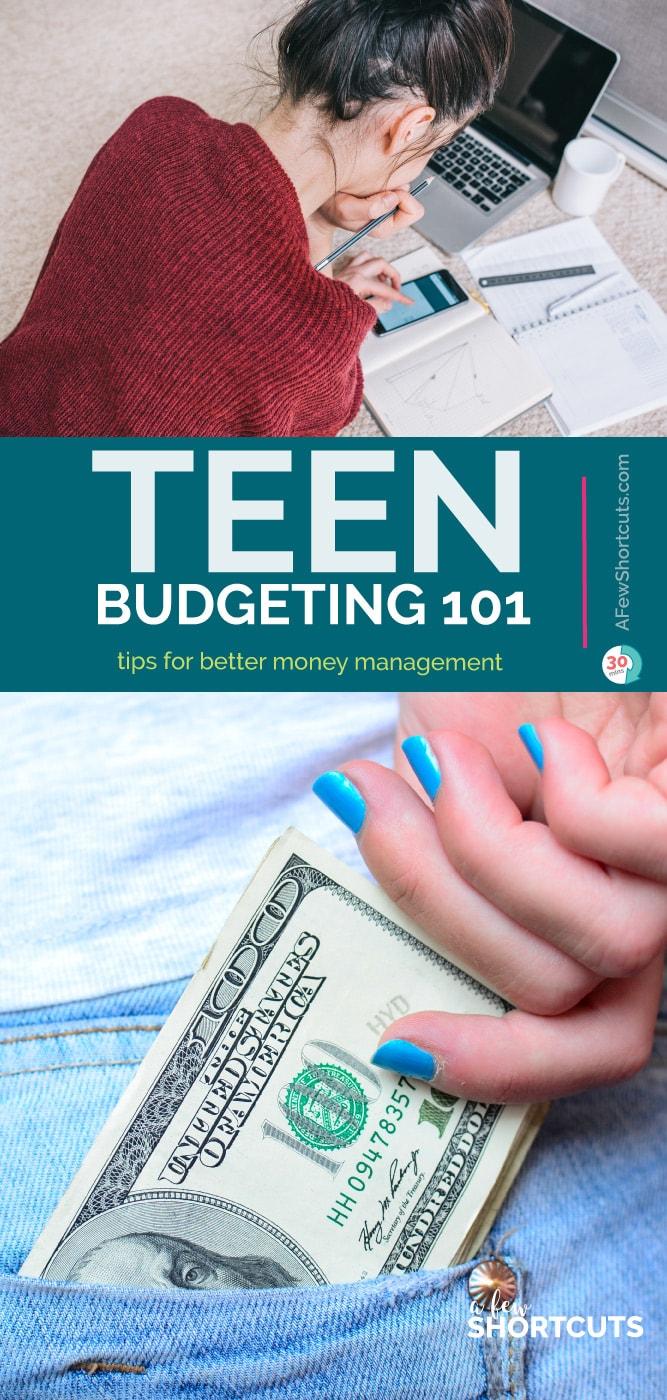 Teen budgeting 101