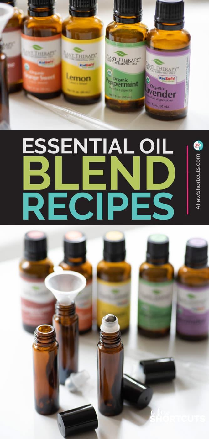 Essential Oil Blend Recipes
