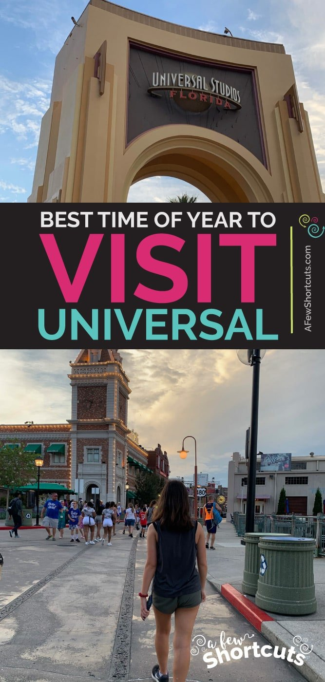 The Best Time of Year to Visit Universal Orlando