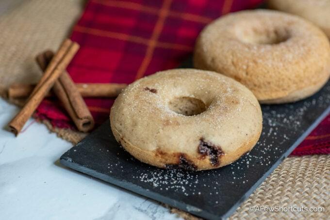 Gluten Free Snickerdoodle Donuts