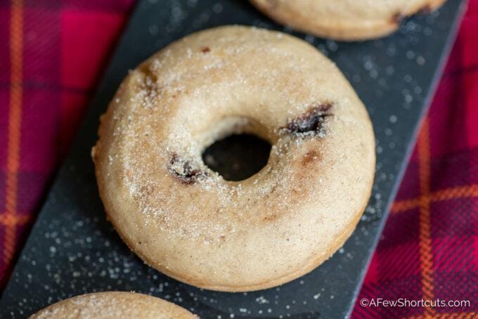 Snickerdoodle doughnuts