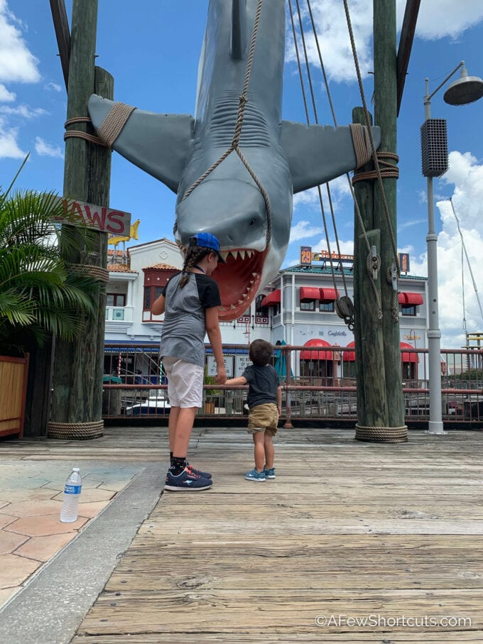Jaws and kids