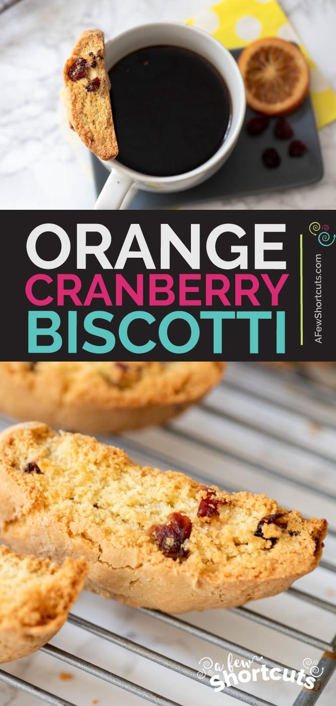 Orange Cranberry Biscotti