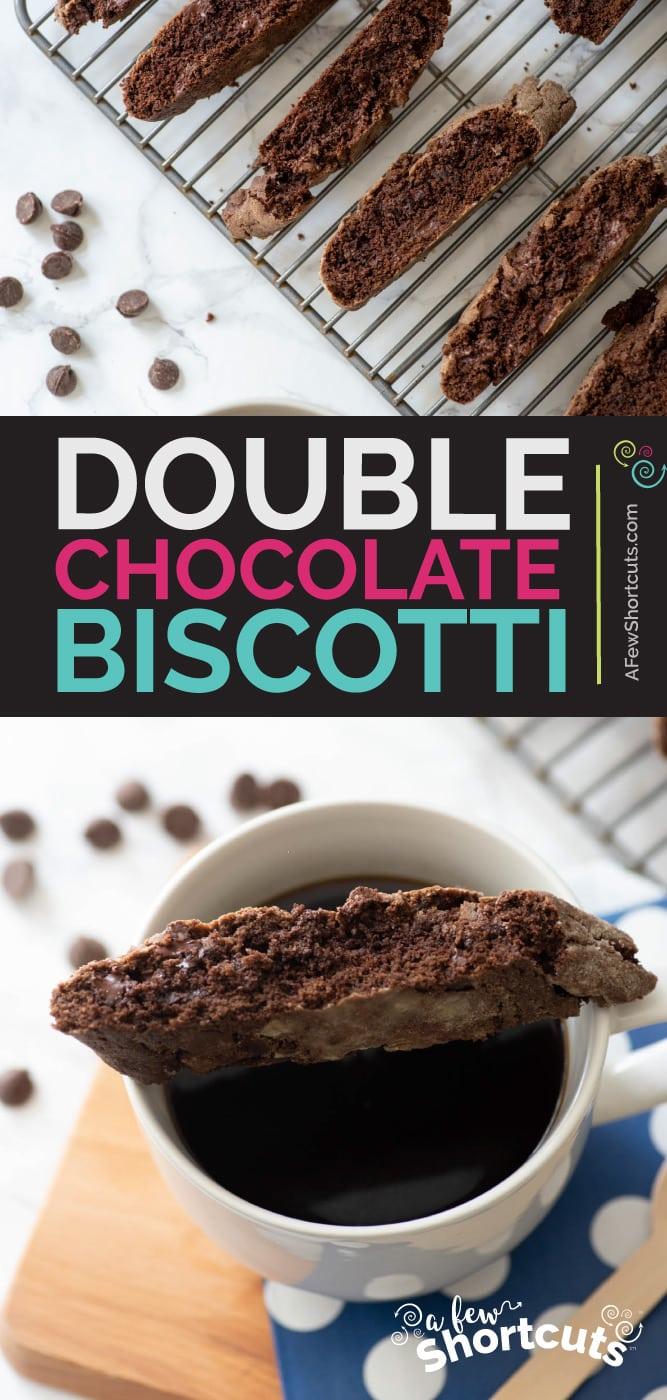 Double Chocolate Biscotti