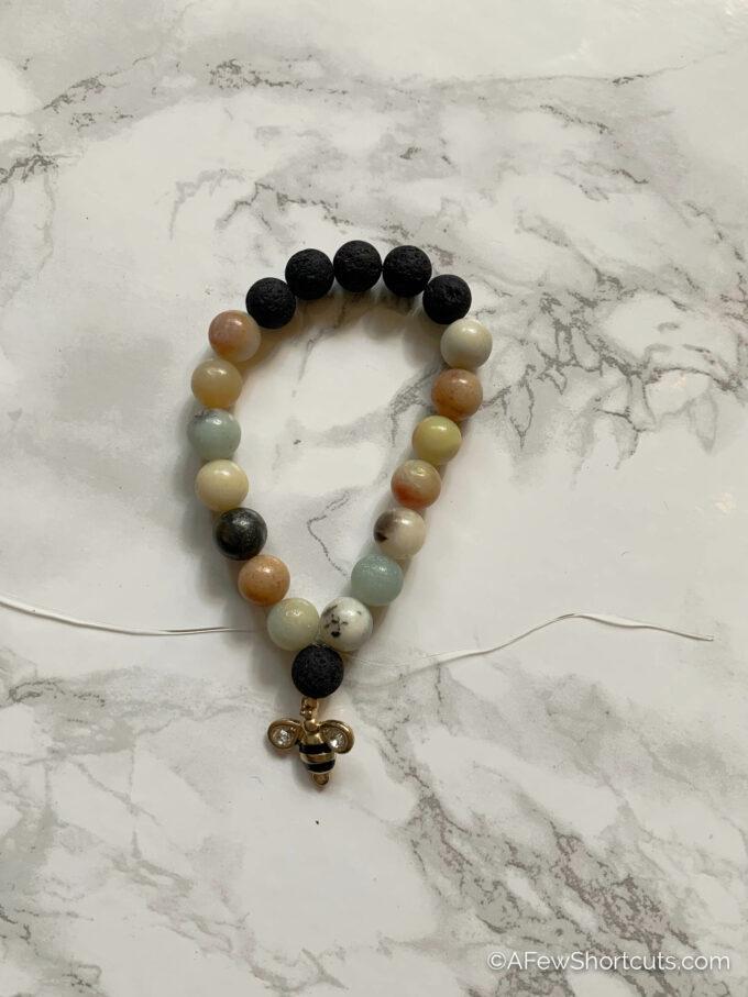 bracelet with bee