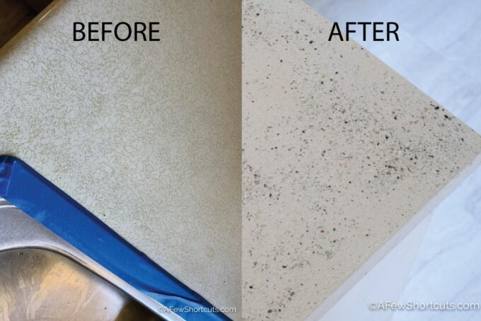 Resurface countertops before and after