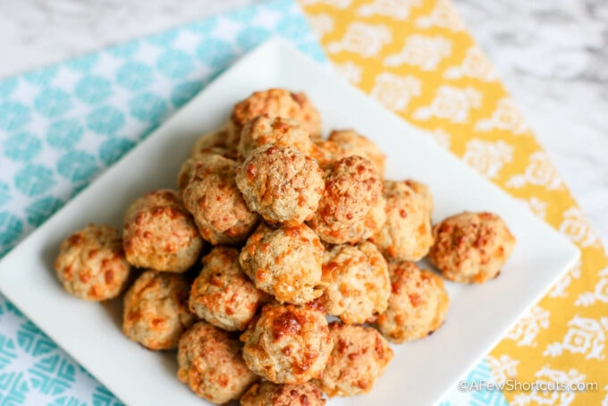 low carb cream cheese sausage balls
