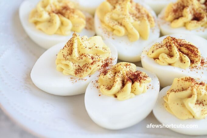 The Best Deviled Eggs Recipe A Few Shortcuts