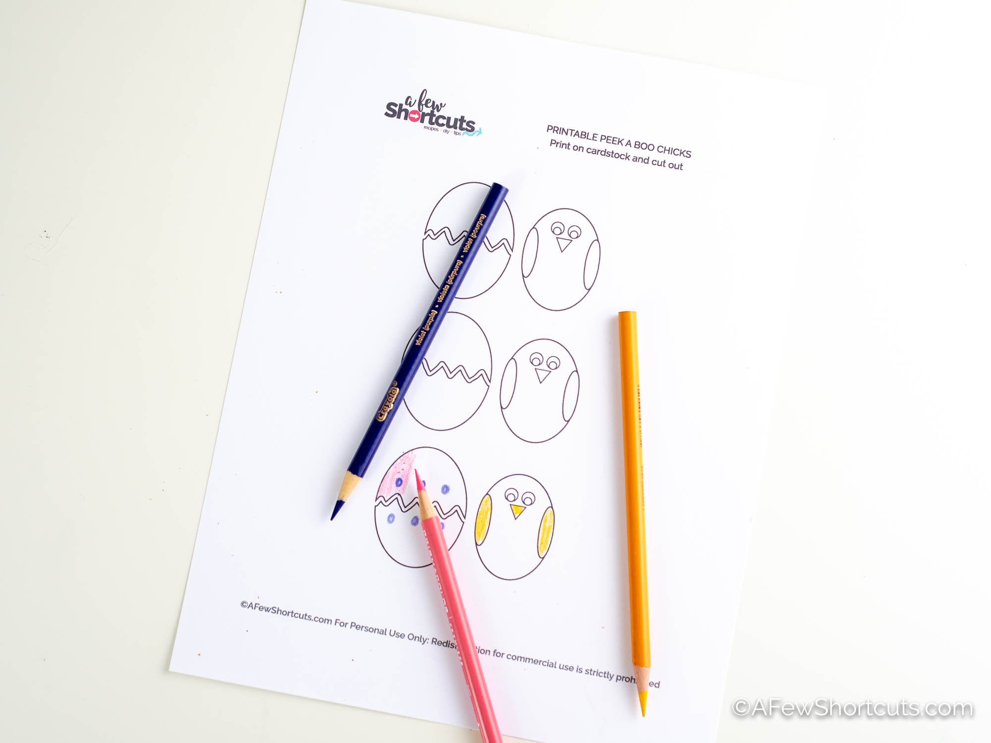 Coloring Page Template