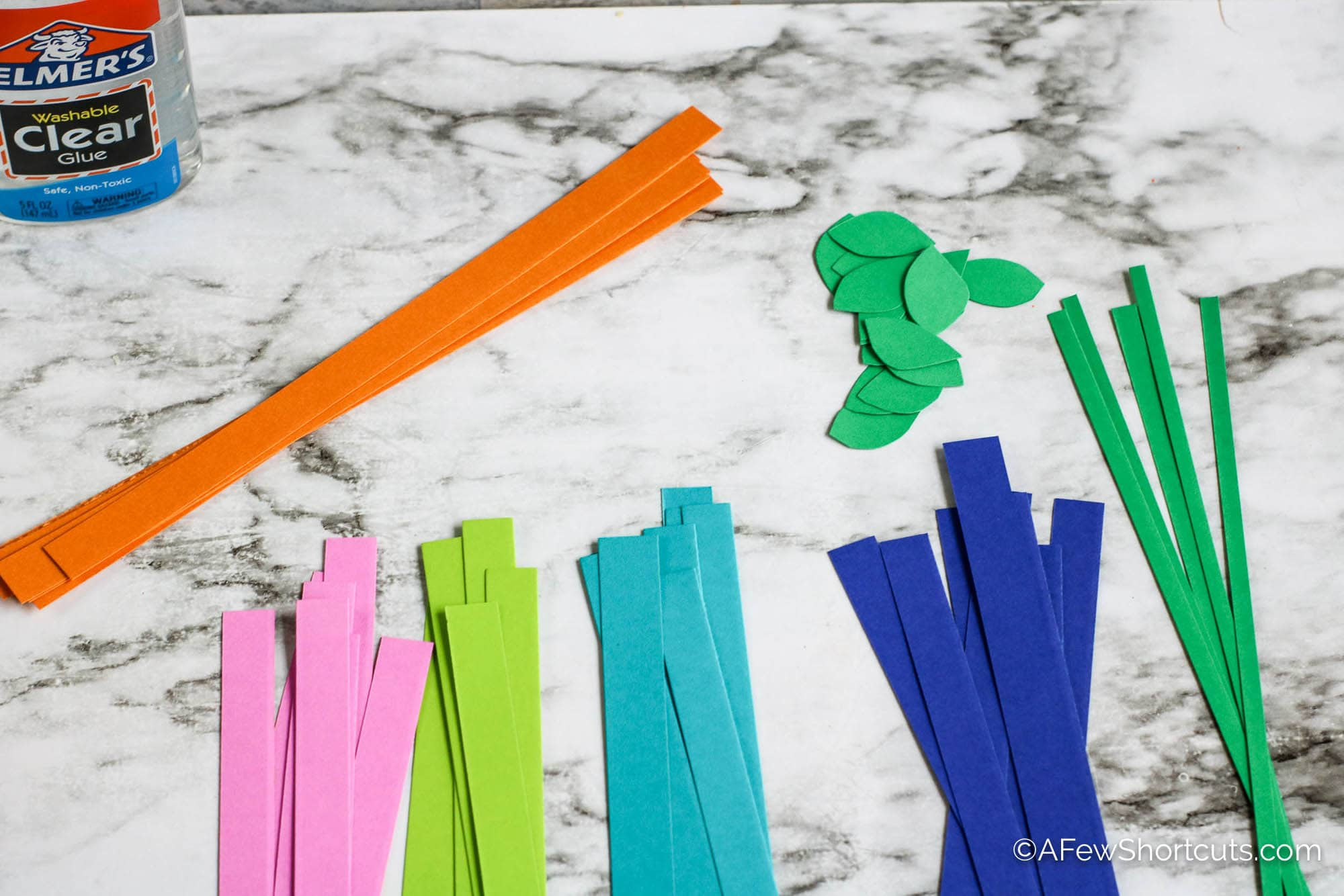Colored Paper Strips