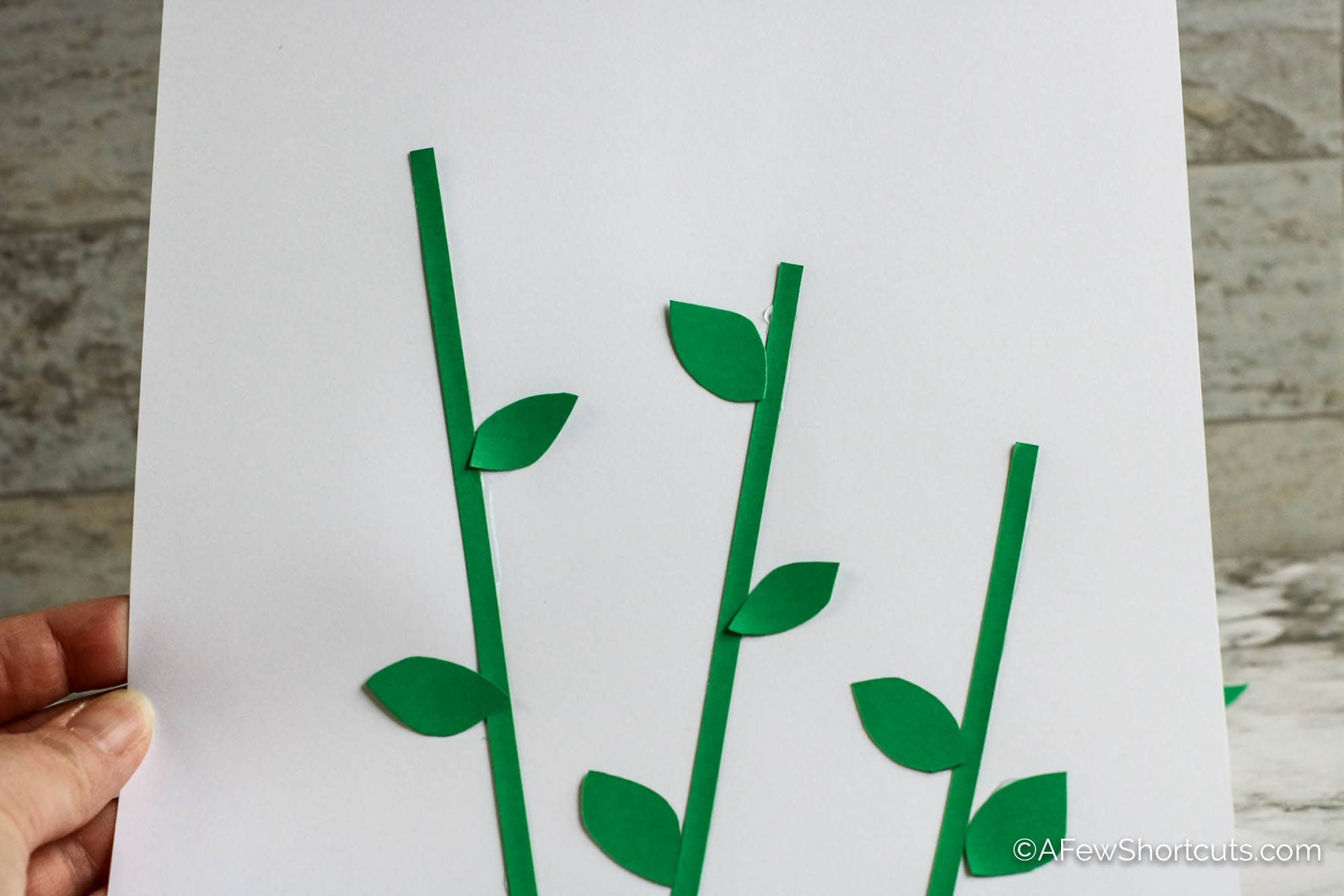 Stems on paper