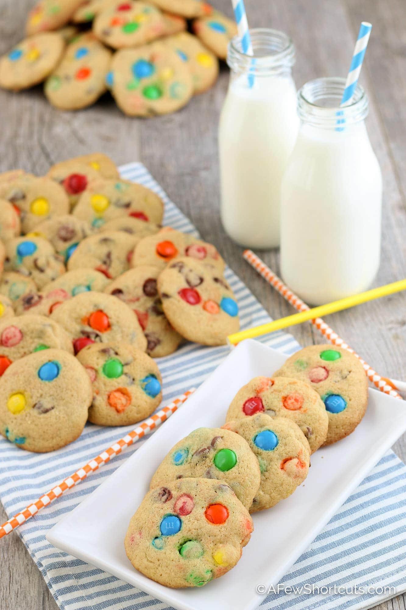 Gluten Free M&M Cookies