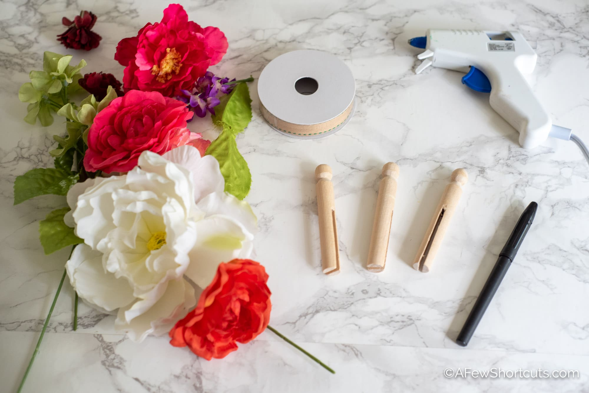 Clothespin Fairy Craft Supplies