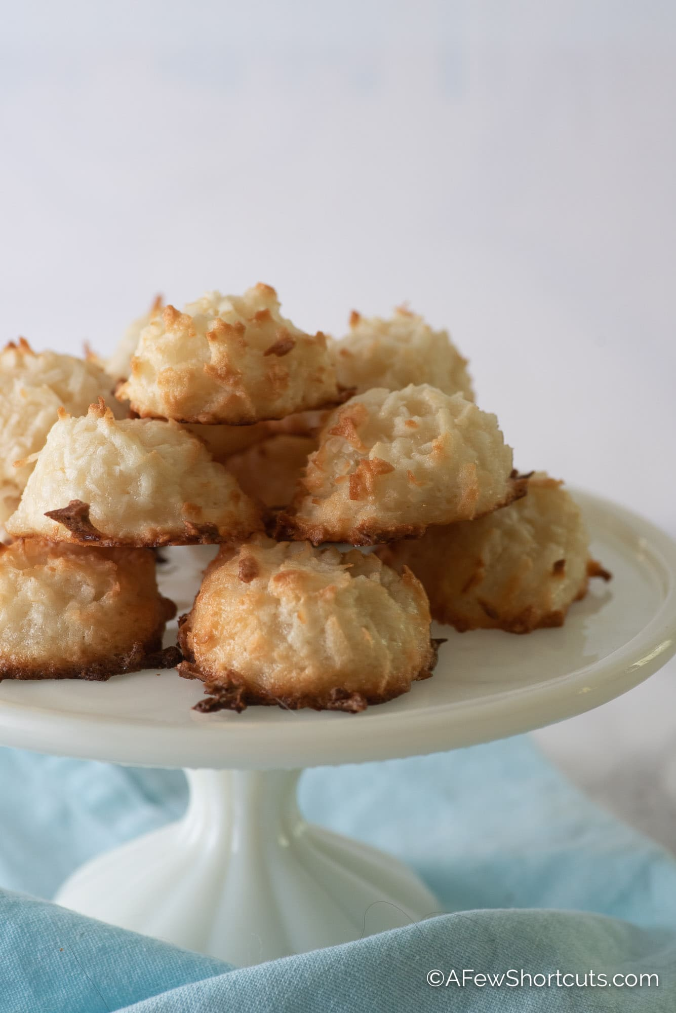 Simple Coconut Macaroons Recipe A Few Shortcuts
