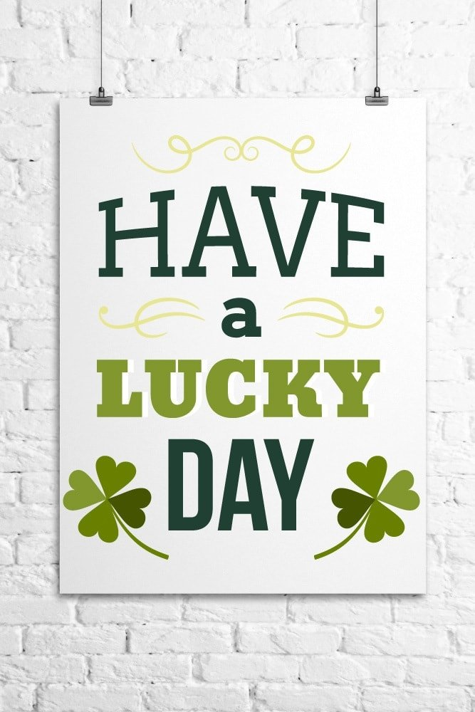 Have-a-Lucky-Day-Wall-Art