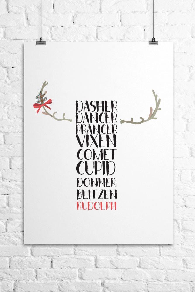 reindeer-printable-wall-art-canvas