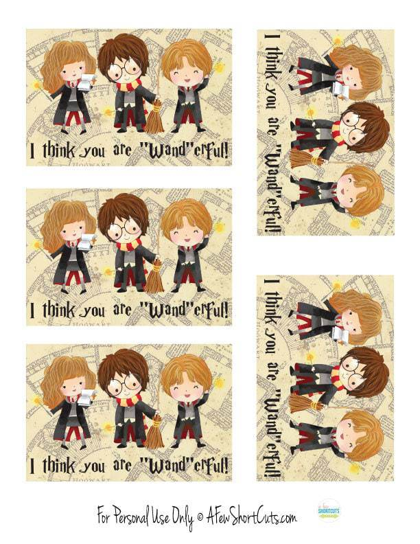 Free printable harry potter valentines day cards a few - Harry potter images download ...