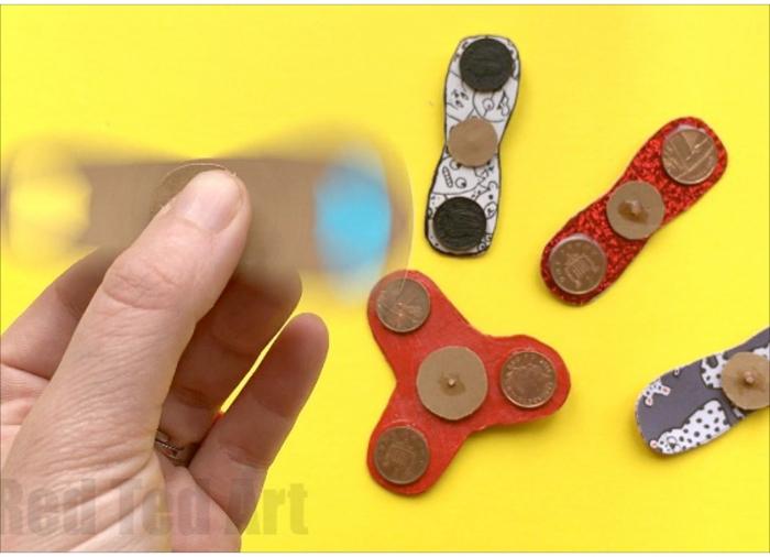 DIY Fidget Spinners (No Bearings)